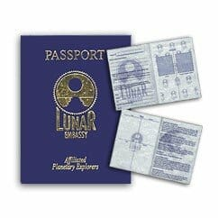 The Extraterrestrial Passport and Nationality